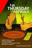 First Thursday poster