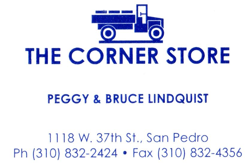 The Corner Store business card