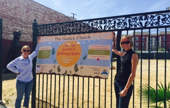 The Garden Church opening