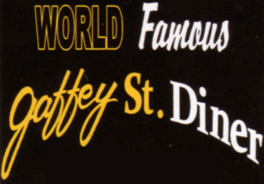 Gaffey St. Diner logo