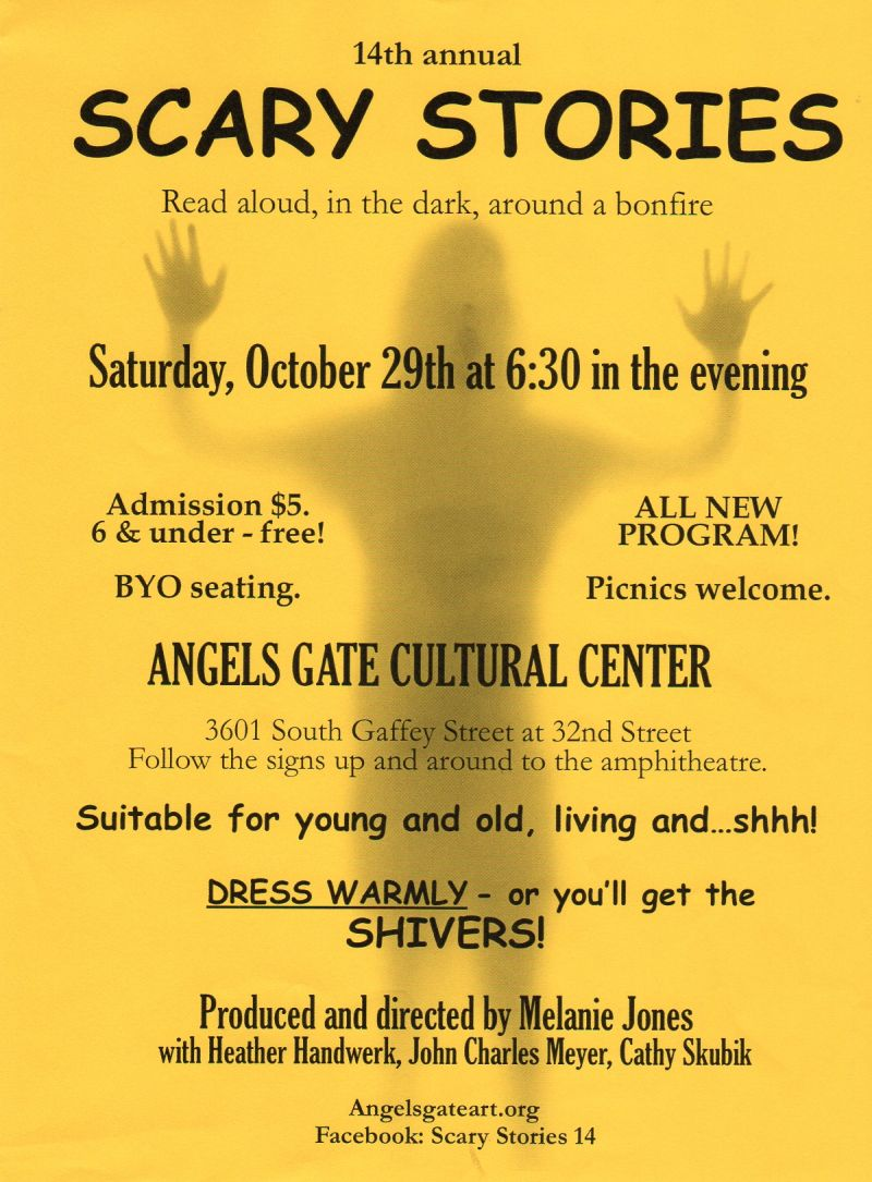 SCARY STORIES 14 flyer