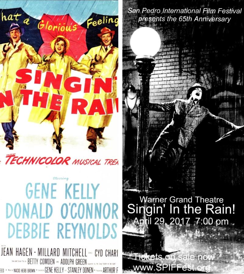 Singin' In the Rain card