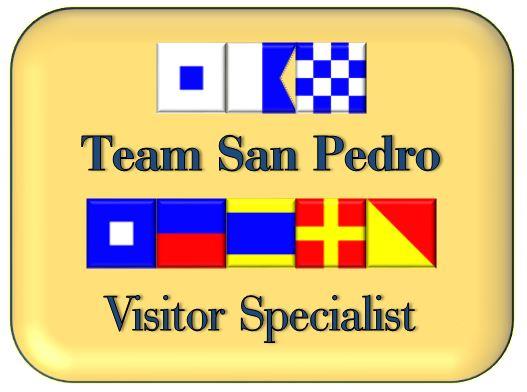 Team San Pedro Visitor Specialist badge