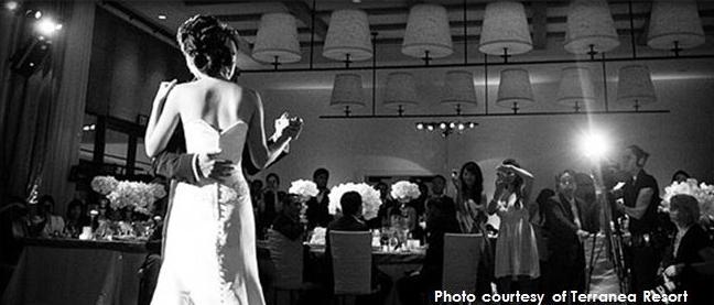 Terranea wedding photo