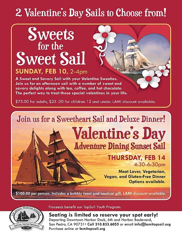 LAMI Valentine's Day 2019 flyer