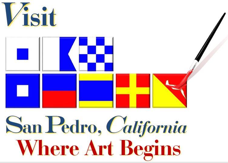 San Pedro arts emblem