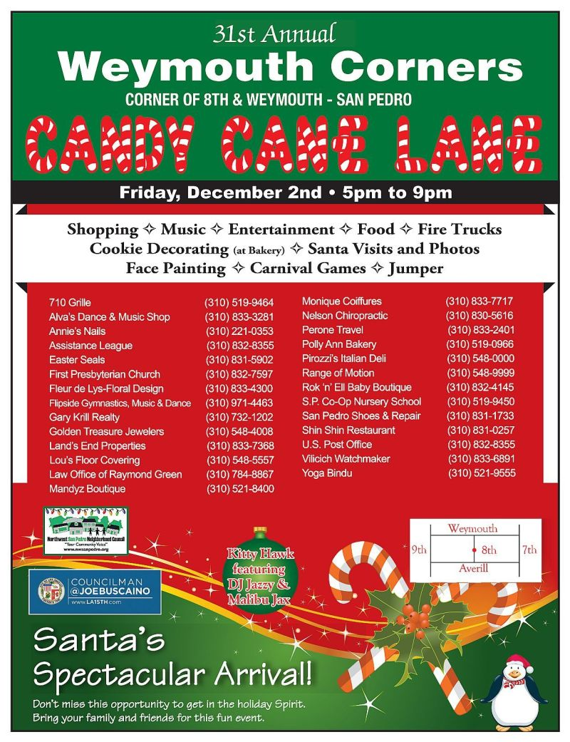 Candy Cane Lane Flyer