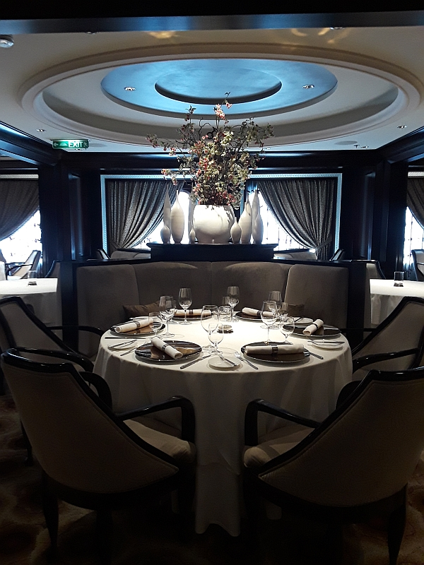 Photo of Luminae at the Retreat restaurant for suite passengers on board Celebrity Eclipse
