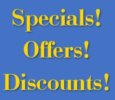 Click here for the special offers, discounts, and deals from Visit San Pedro and its partners
