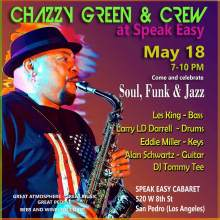 Chazzy Green flyer